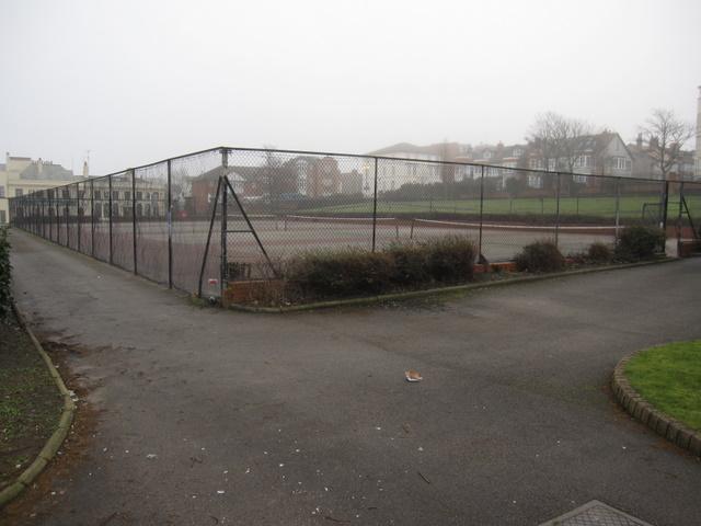 Marine Park tennis courts