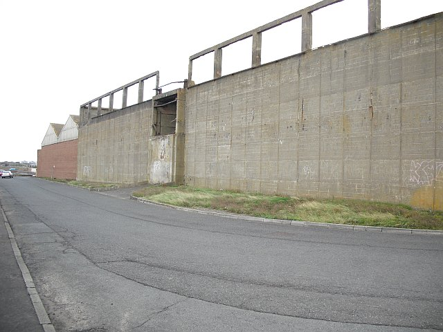 Ruined warehouses, Port of Ayr