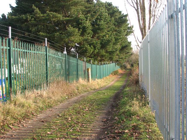 View along Marsh Lane
