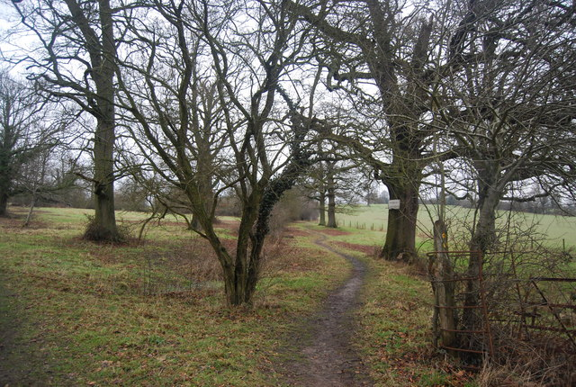 Footpath to Chiddingstone