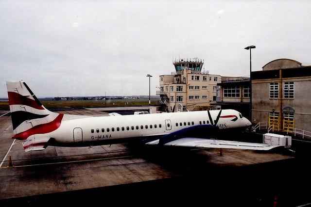 Ronaldsway Airport - British Airways aircraft