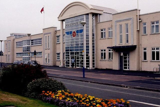 Ronaldsway Airport - Terminal building