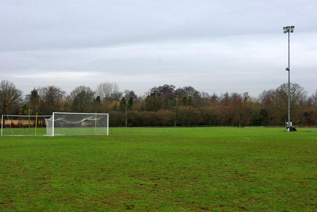 Lingfield F.C. pitch
