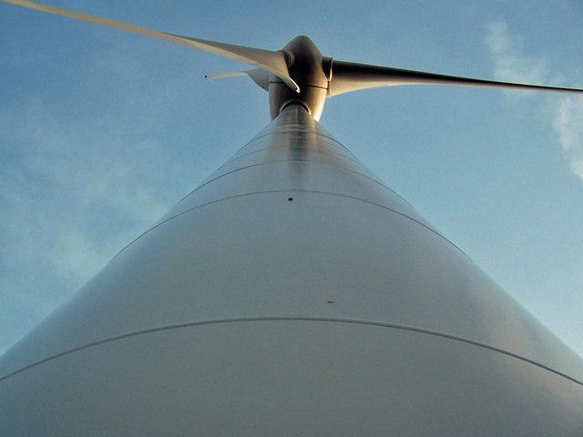 Wind turbine at Ben Aketil