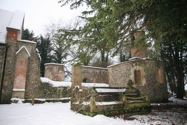 Tomb by the ruin