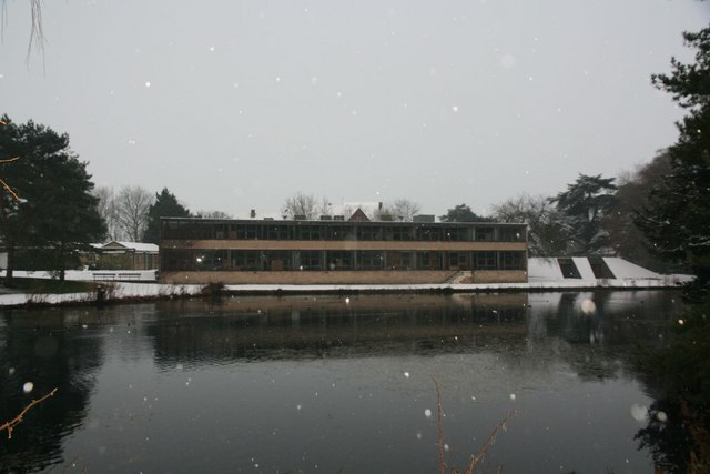 Classrooms across the lake