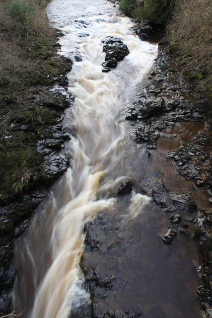 Waterfall on River Almond