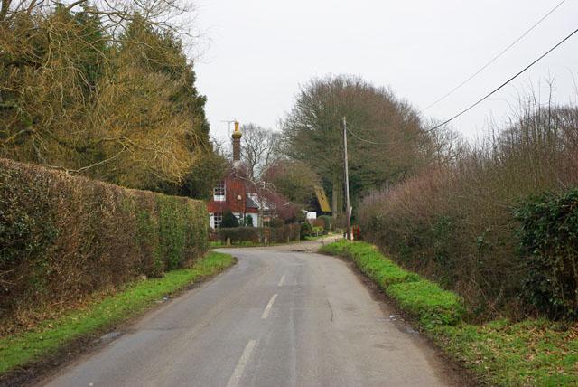 Bend on Hare Lane