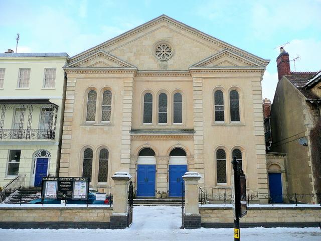 Cambray Baptist church, Cheltenham