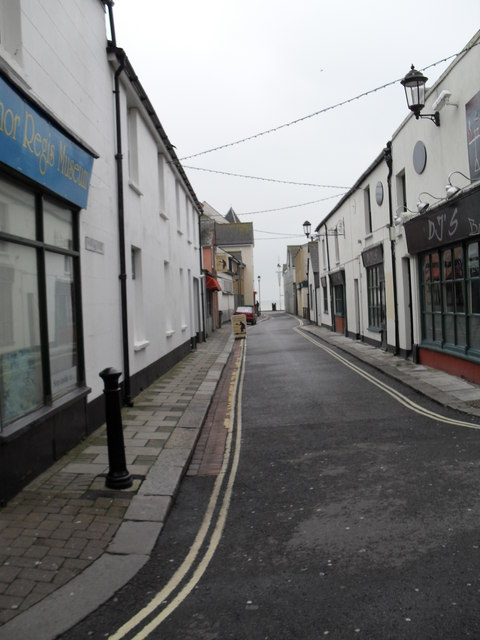 Looking southwards down Norfolk Street towards the seafront