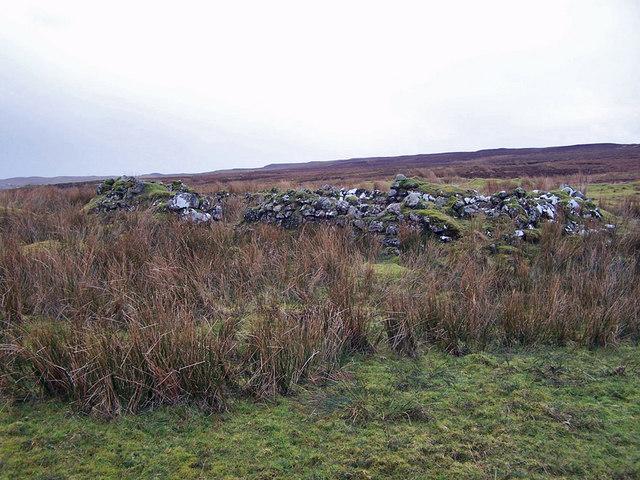 Ruins at Cnocantoul