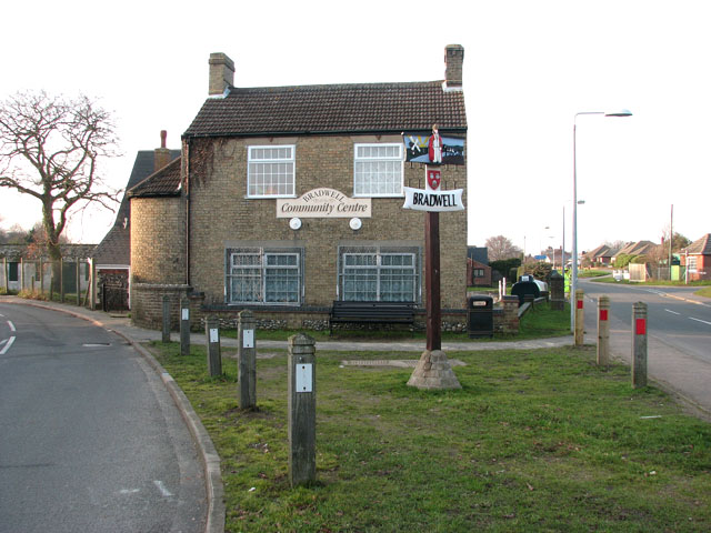 Bradwell village sign