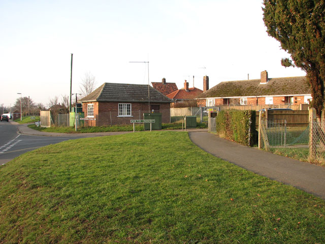 Cottages in Morton Crescent