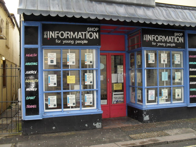 The Information Shop in the High Street