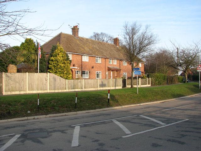 Terrace housing in Lords Lane