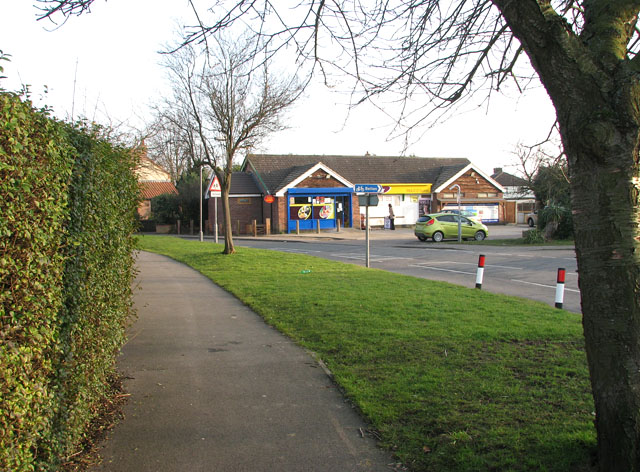 Bradwell Post Office and shop