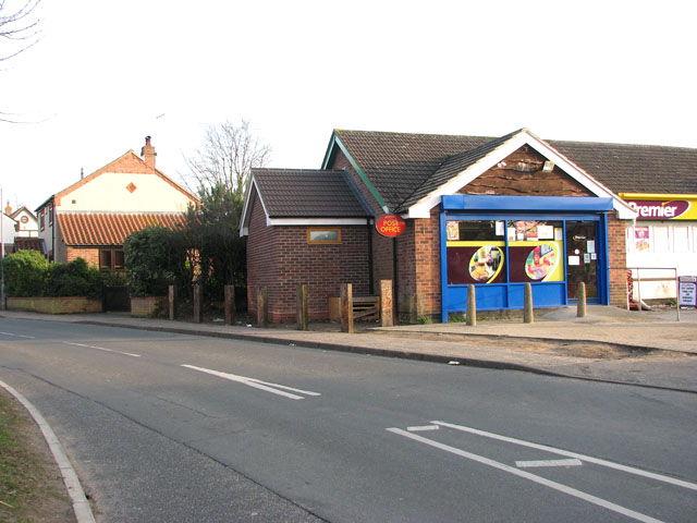 Bradwell Post Office