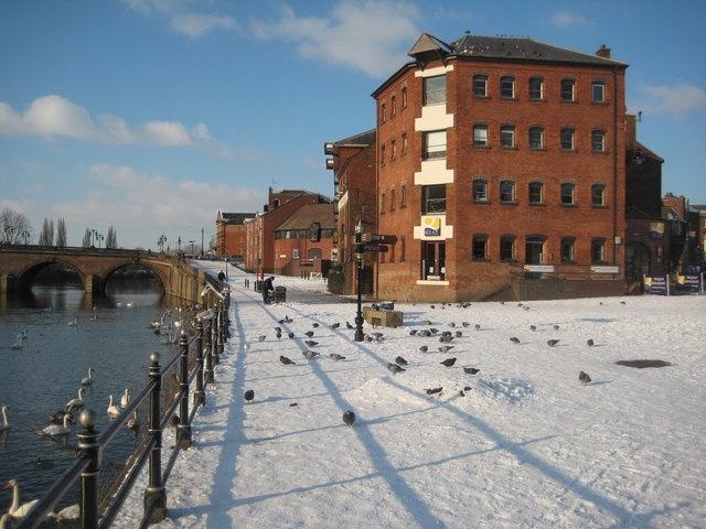 South Quay, Worcester