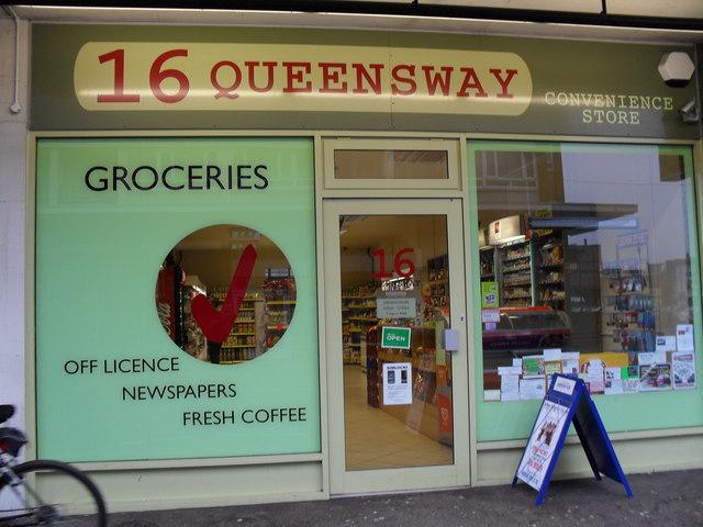 Convenience store in Queensway