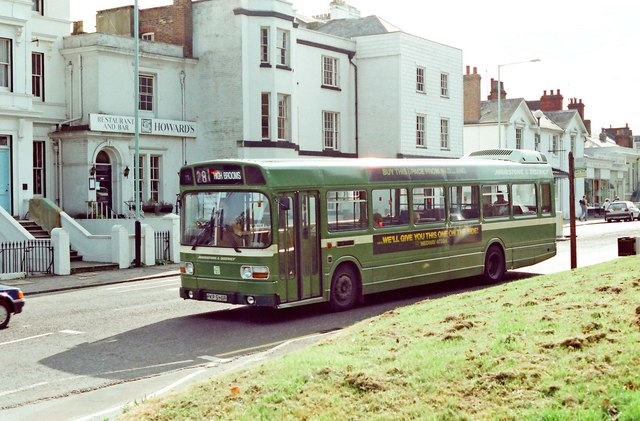 Maidstone & District bus no. 3546 (Leyland National) in London Road
