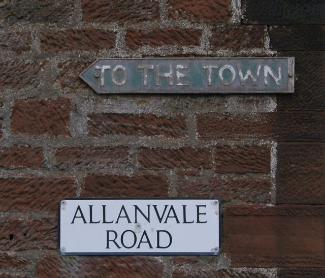 Signs on Allanvale Road