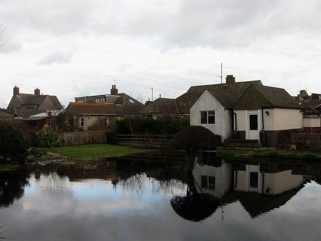 Flooded Garden, Castle Drive