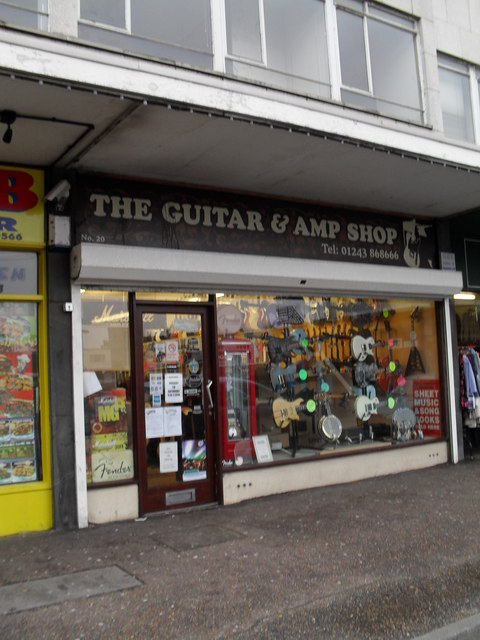 The Guitar and Amp shop in Queensway