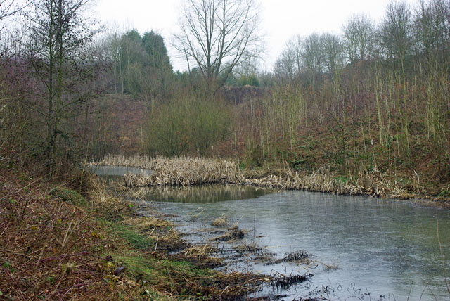 M23 runoff pond