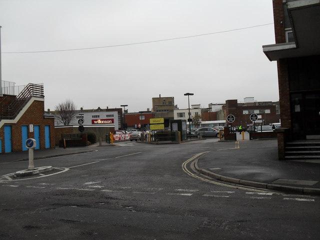 Access road off Queensway
