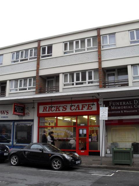Café  in Queensway