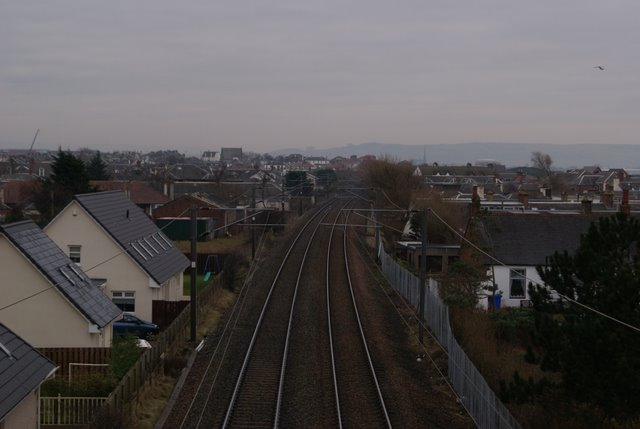 The line to Ayr