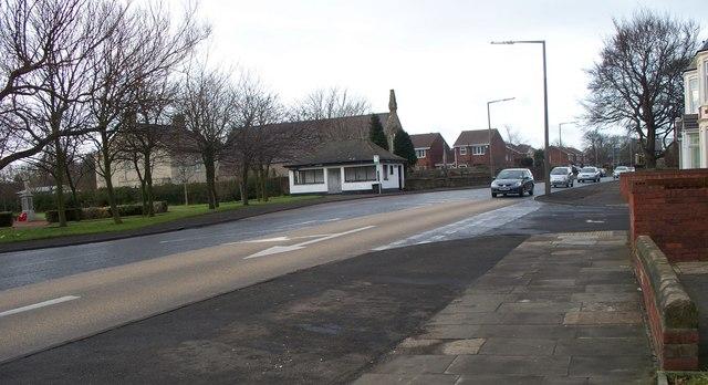 Cowpen Road (looking West)