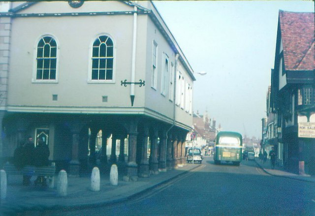 Town Hall, Faversham in 1968