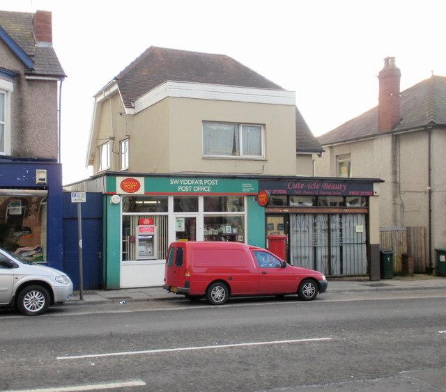 Cross Hands Post Office, Newport