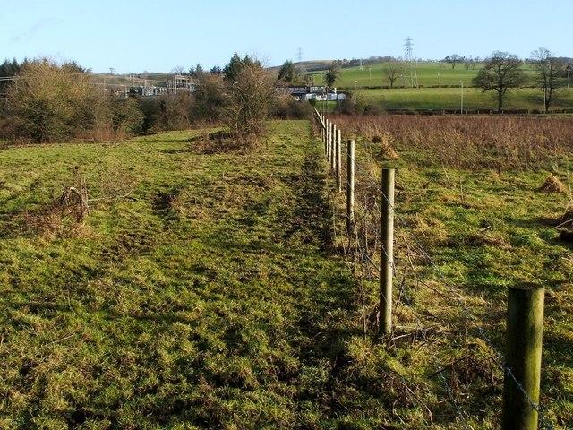 Fence at Kilmalid