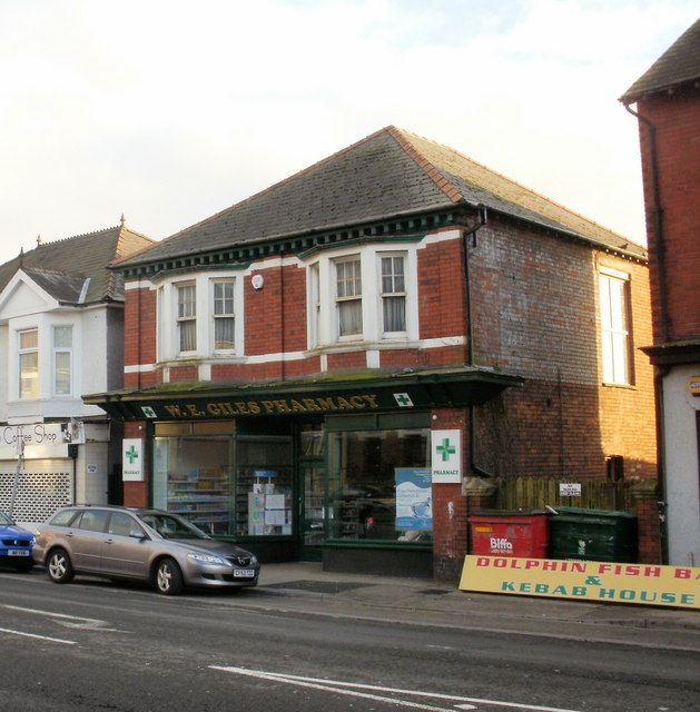 W.E.Giles Pharmacy, Chepstow Road, Newport