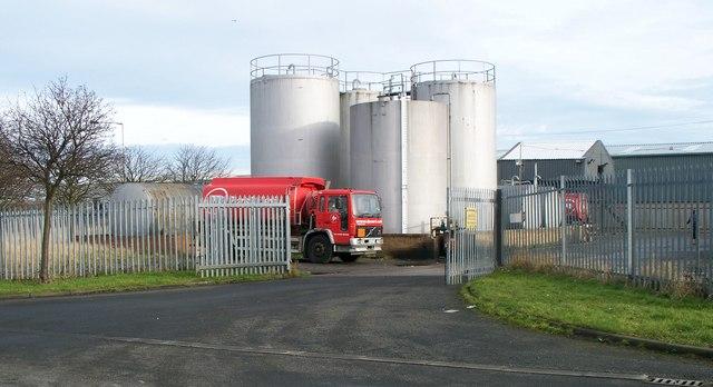 Fuel distribution depot