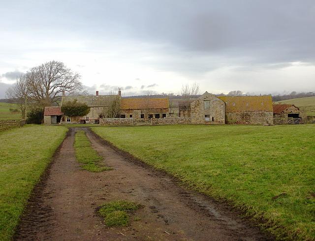 Humbleton derelict farm