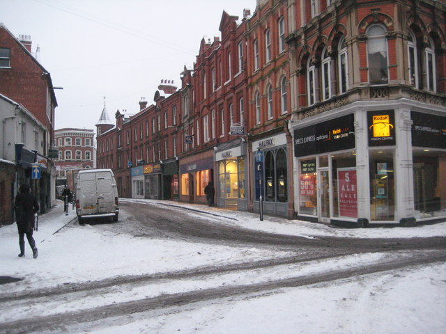 St Swithun Street, Worcester