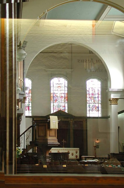 Holy Trinity, Rookery Road, London SW4 - East end