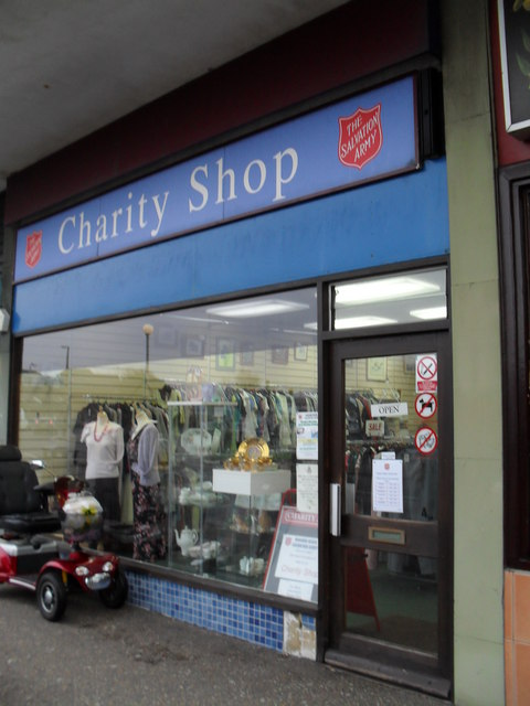 The Salvation Army Charity Shop in Queensway