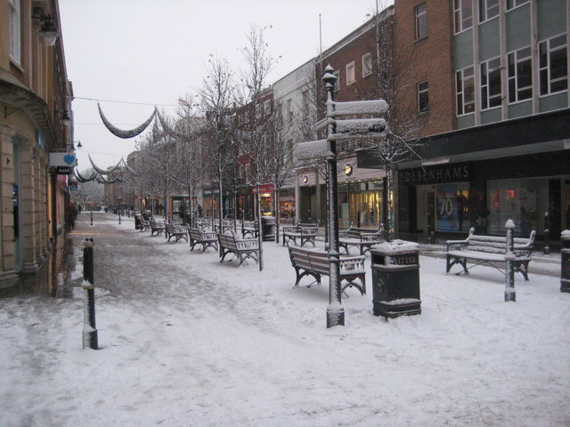 The High Street, Worcester