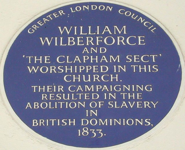 Holy Trinity, Rookery Road, London SW4 - Blue plaque