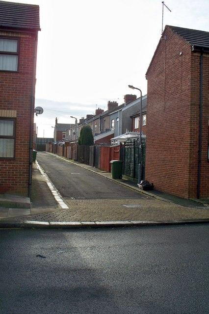 Back Lane in Cowpen
