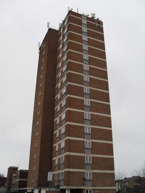 Fitzleet House- north face