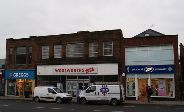 Former Woolworth Local shop