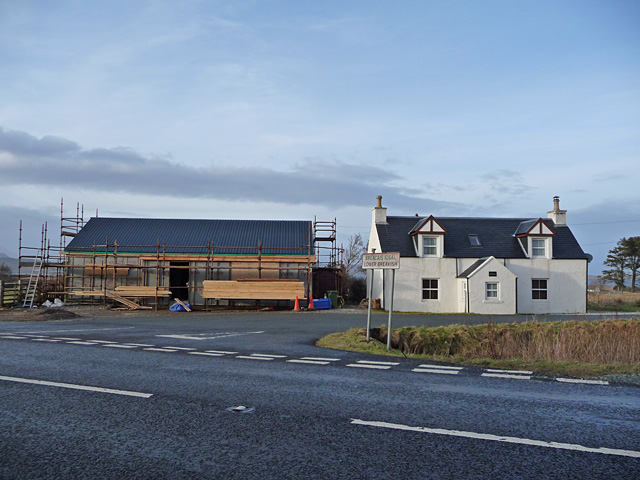 New build at Lower Breakish