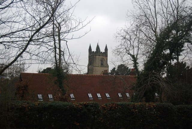St Mary's Church tower, Chiddingstone