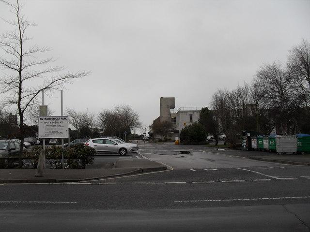 Entrance to Hothamton Car Park