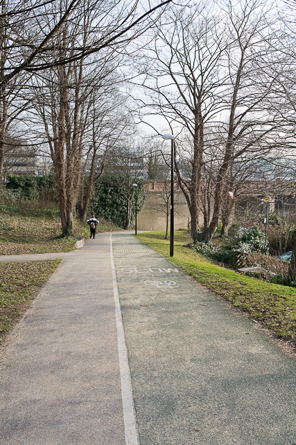Cycleway to Southbrook Road